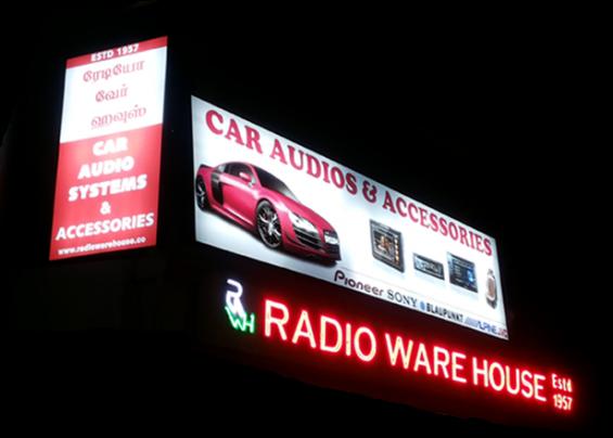 Car accessories in chennai