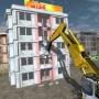 Demolition Of Aparment Through
