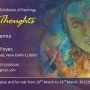 """ETERNITY OF THOUGHTS "" an exhibition of painting by Yograj Verma"