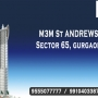 M3M St. Andrews Sector 65 @ 9555O77777