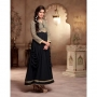 Fantasy Black Colored Georgette Designer Suit