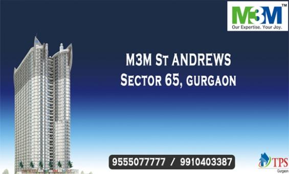 M3m st. andrews gurgaon @ 9555o77777