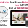 Website for Real Estate Builders and Promoters only at 5799