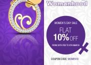Women's Day Celebration at Aurobliss.com – Flat 10% Off