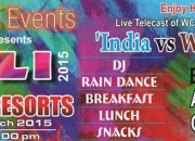 Kyazoonga.com: Buy tickets for Colourful Holi Party 2015  – Thane