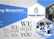 Providing unlimited Manufacturing manpower from Vietnam