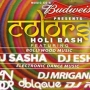 Colours - Holi Bash Edition2 Bengaluru | Buy Event Tickets on Kyazoonga
