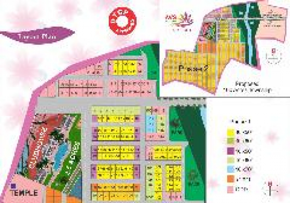 Dtcp approved residential plots for sale in denkanikottai road@rs:549/sqft