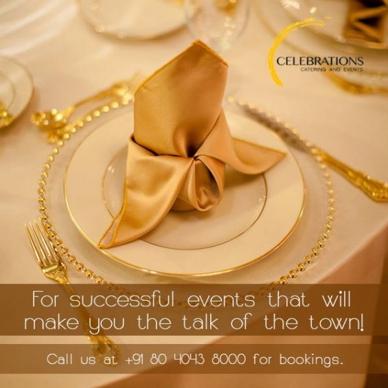Visit celebrations for catering services