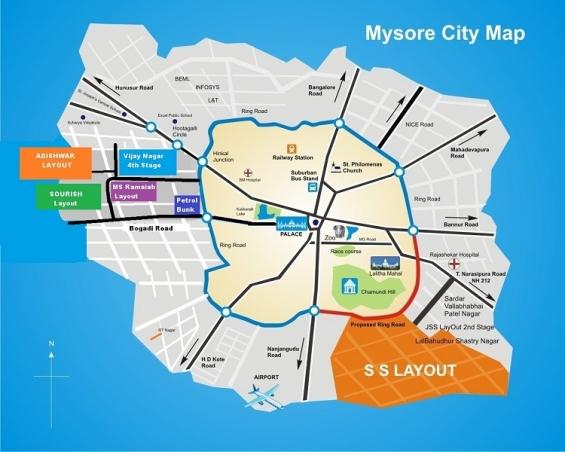 Properties in mysore- sourish nagar for sale – mysore