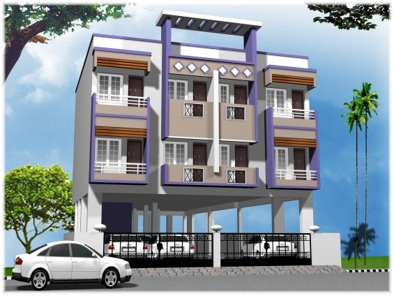 929 sq.ft flat for sale at ambathur ot.