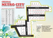 Best area plot for sale at singaperuamlkoil.