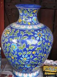 Shivkripa is serving in blue pottery items international. you can by trendy blue pottery pots from shivkripa bluepottery.