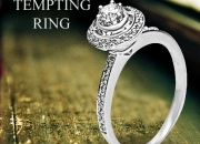 Sparkling white gold diamond ring @ 25% discount