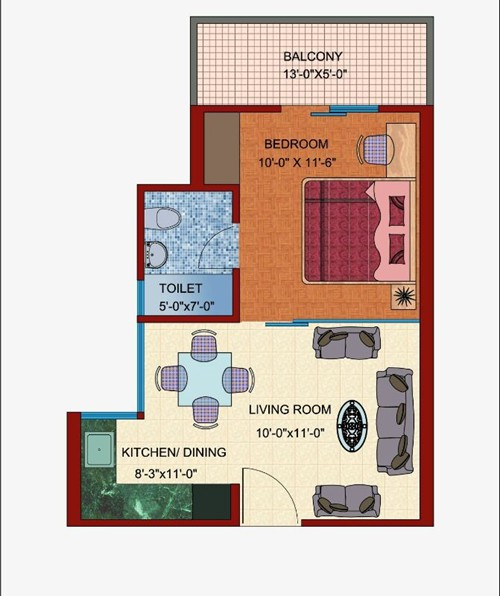 1 bhk apartment for sale in greater noida