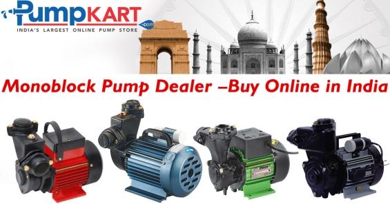Monoblock pump dealer – buy online in india