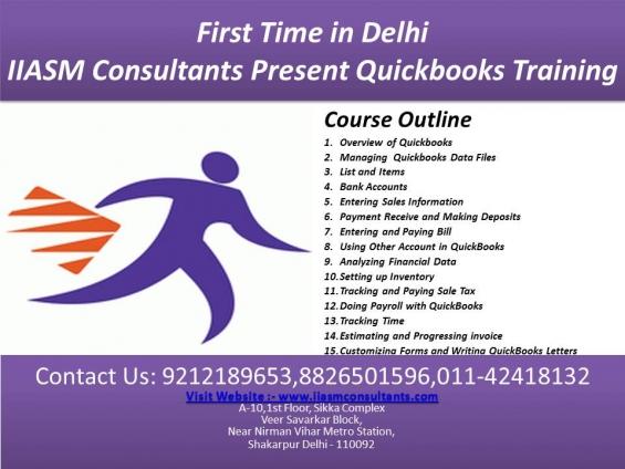 Quickbooks training in delhi