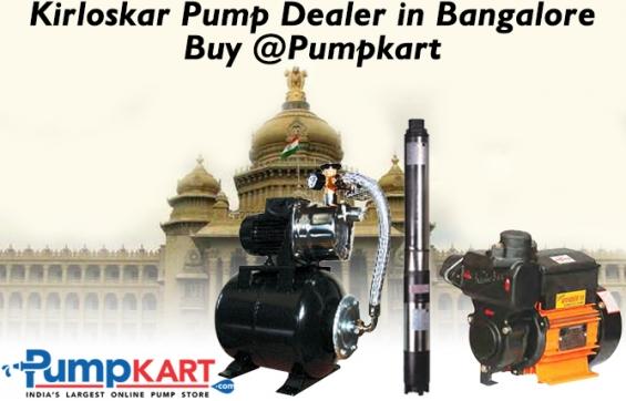 Kirloskar pump dealer in bangalore- buy at pumpkart