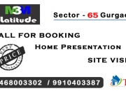 M3m latitude sector 65 gurgaon @ 9555077777