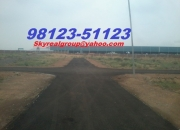Plot In Neemrana On Road With Good Rental Income Near Industry