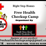 Right Step Free Health Checkup Camp on 15 March 2015 in Delhi