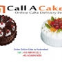 Cakes delivery in Hyderabad - CallACake