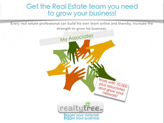 Real estate online portal  @ realtytree