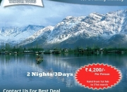 Grab the amazing deals on ultimate Kashmir Tour Packages India: