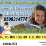 10 12 Class Admission through NIOS Distance 10 12 class Admission call 9599314778