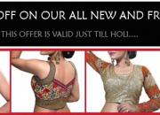 Designer Choli online shopping store