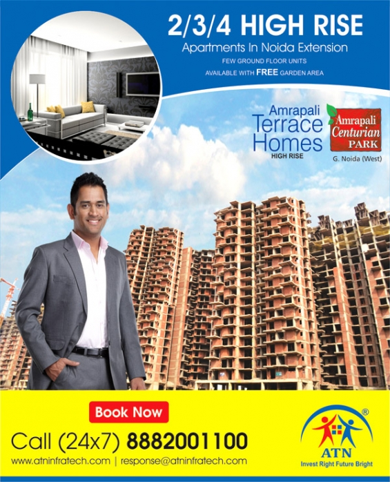 Book reasonably priced house in amrapali terrace homes