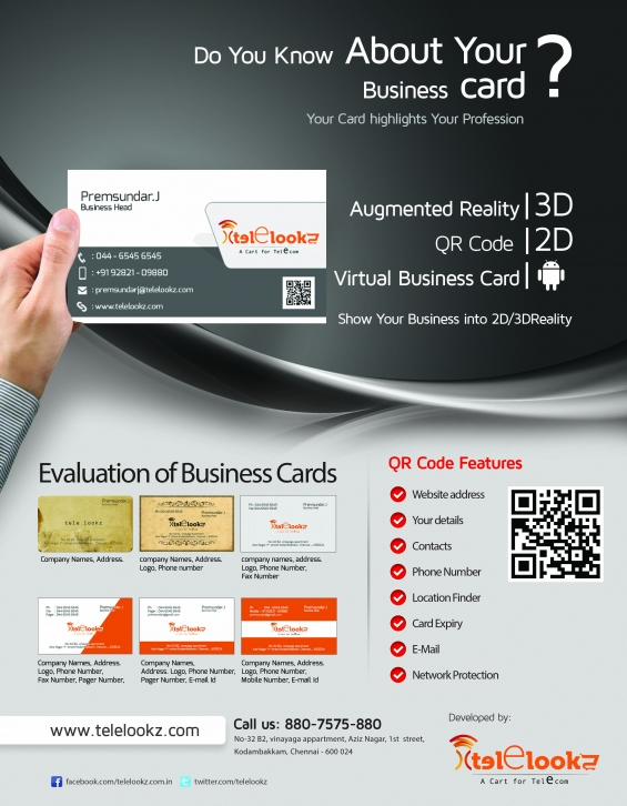 Business card for business magnates