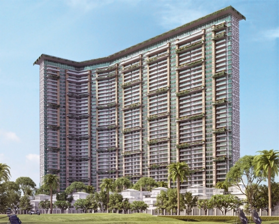 Mahagun manorial golf facing apartments