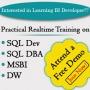 Realtime Online Training on BI @ SQL School