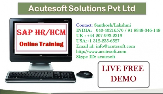 Sap hr/hcm online training |online sap hr | sap hr