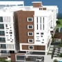 950 sqft to about 1400 sqft area size of the flat available for sale -9035072718