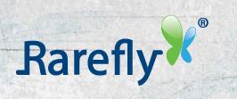 Graphic design company - rarefly