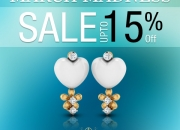 Get Ready, Set, SHOP at the March Madness Sale! Up to 15% Off on gold jewellery collection
