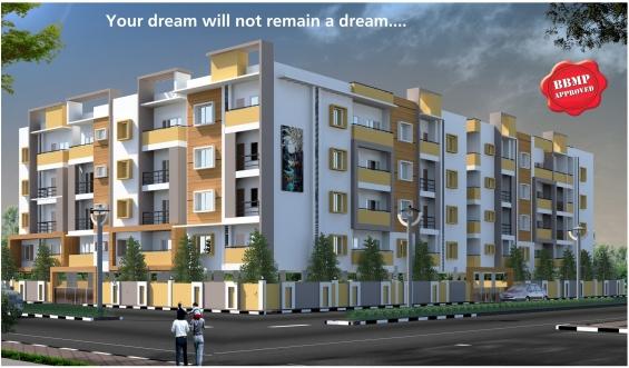 3bhk luxurious flats for sale @ doddakallasandra