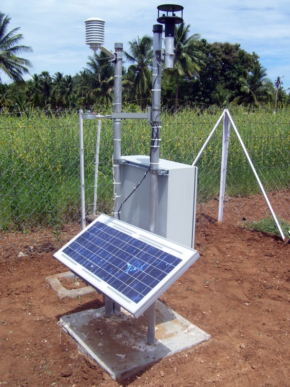 Automatic weather station from kaizen imperial