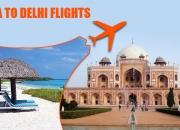 cheap Airfares Flight tickets from delhi to goa