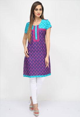 Pictures of Designer kurtis, designer kurta designs at wholesale price 2