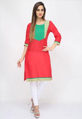 Pictures of Designer kurtis, designer kurta designs at wholesale price 4