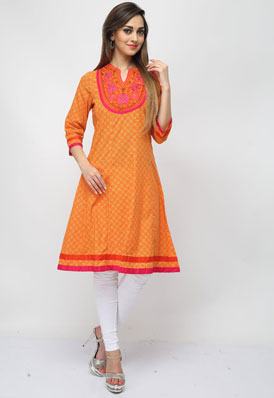 Pictures of Designer kurtis, designer kurta designs at wholesale price 15