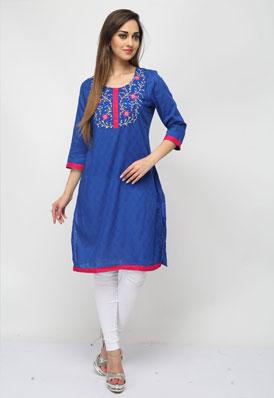 Pictures of Designer kurtis, designer kurta designs at wholesale price 3