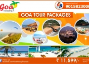 Book Goa tour packages at Rs 11599 per couple for 03N/04D