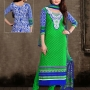 Cotton blend Salwar Kameez and Cotton Sarees from EthnicWholesale - India