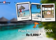 Save your Money and time to Book Goa weekend holiday trip