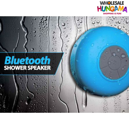 Water proof bluetooth shower mobile speaker