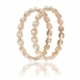 Aria Party wear Gold Plated Pearl Bangle